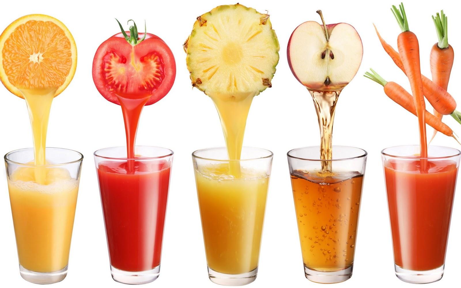 Các loại nước trái cây