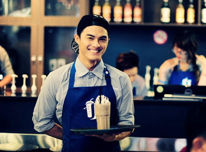 Đặt tình yêu vào cafe