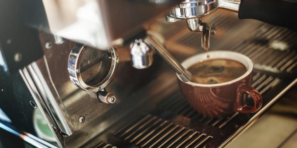 Cách pha cafe ngon bằng máy
