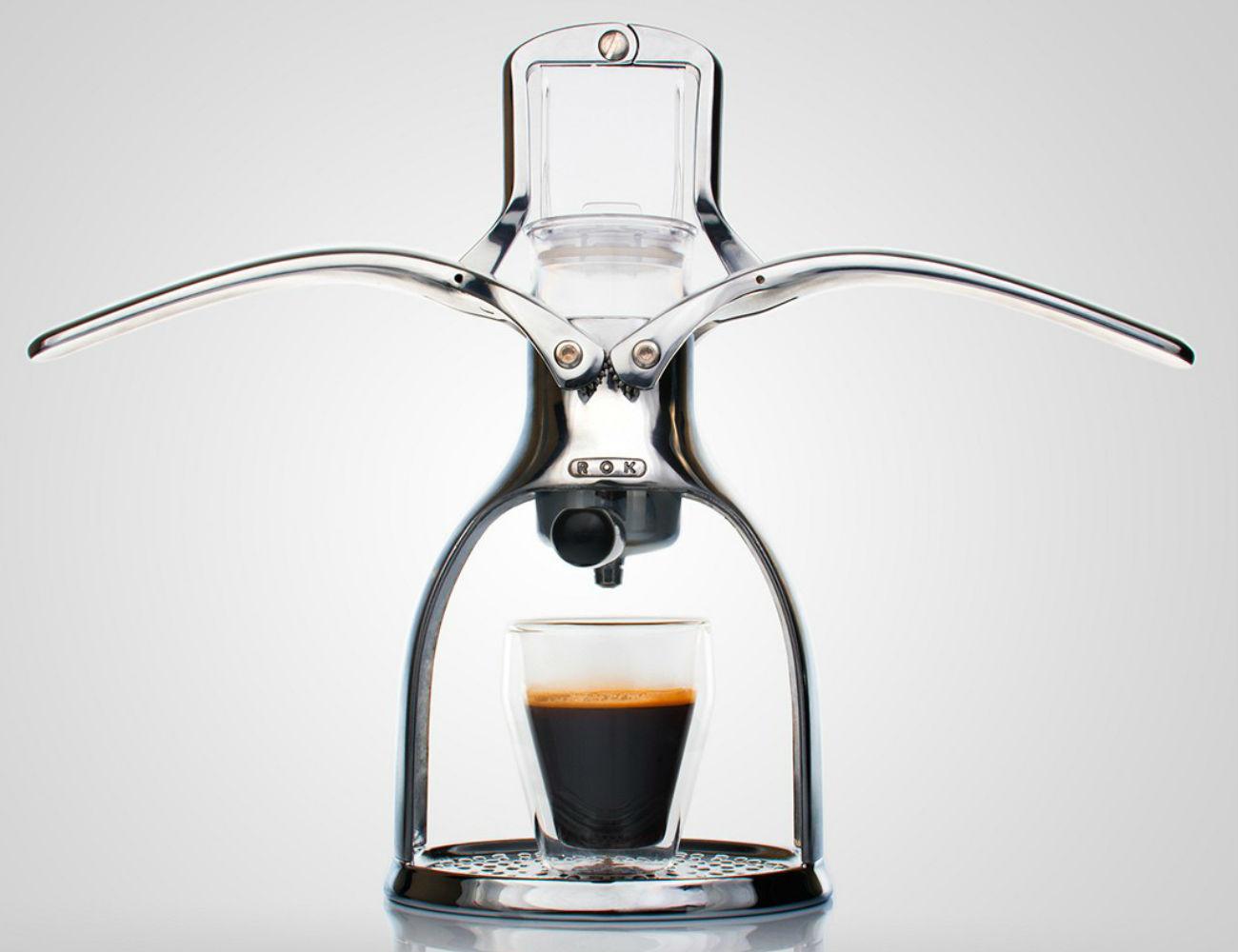 Kiểu dáng máy pha cà phê nén bằng tay eco espresso maker
