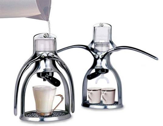 Máy pha cà phê nén bằng tay eco espresso maker