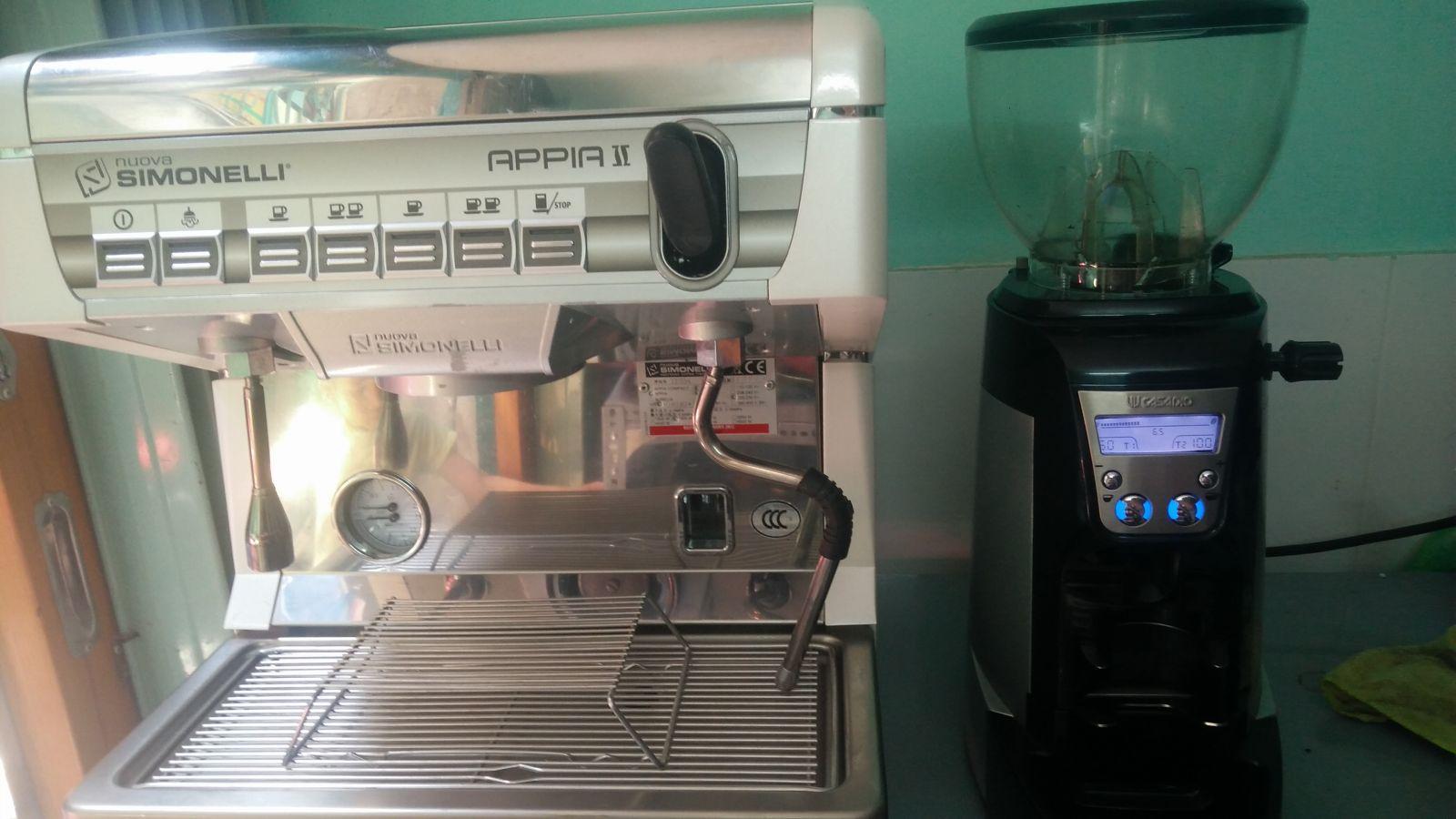 máy pha cà phê cho quán nhỏ nouva simonelli 1 group