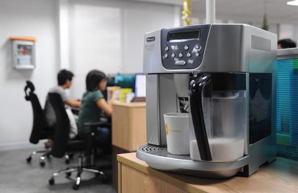 Lợi ích máy pha cà phê dùng cho văn phòng