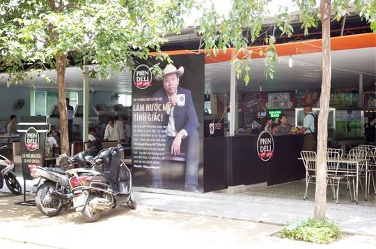 Cửa hàng cafe PhinDeli