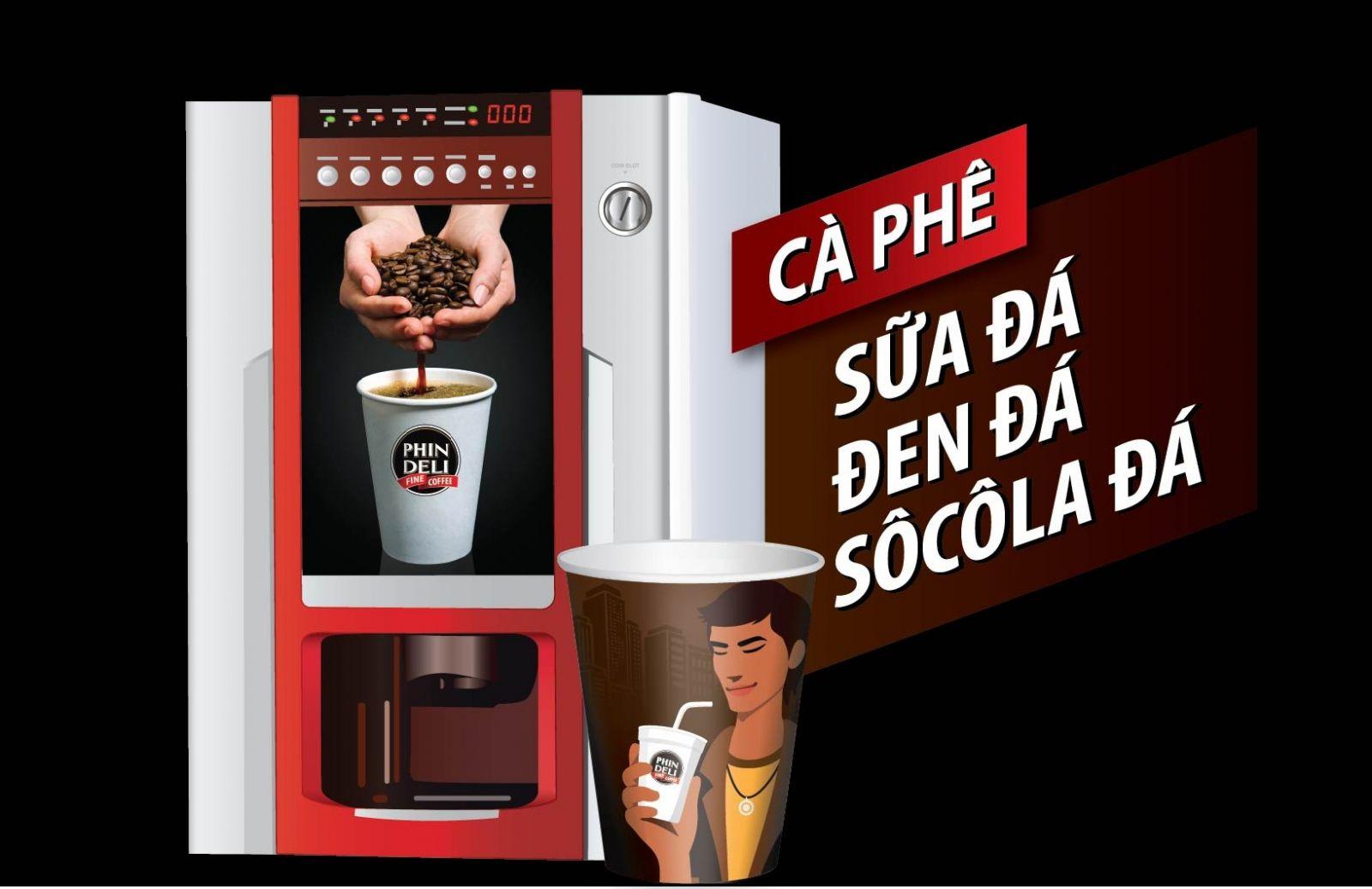 Máy pha cà phê PhinDeli