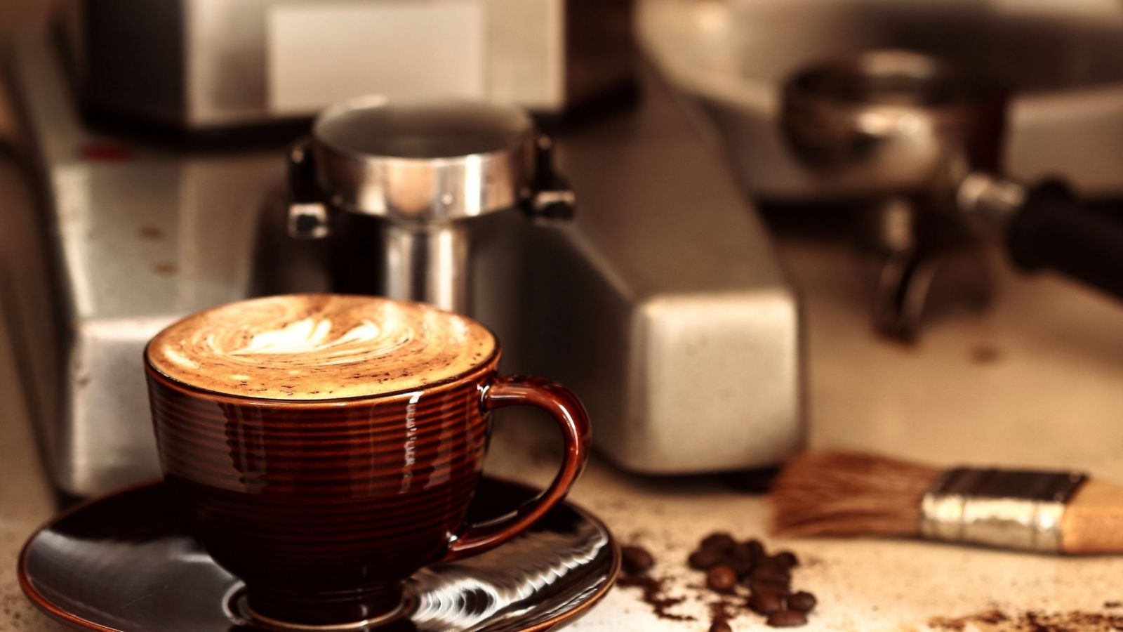 Cà phê pha bằng máy